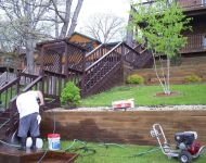 Deck Cleaning Services Before