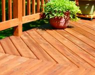 Deck Cleaning Restoration Completed