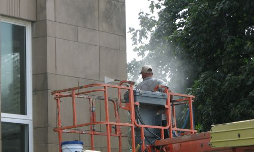 Pressure Washing Services - Courthouse Project