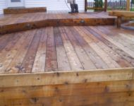 Deck and Fence Cleaning Restoration Stage 3